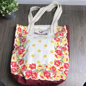 Hollister Canvas Tote